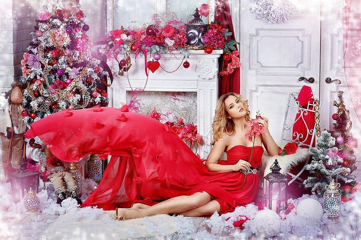 Подарунок коханій на Новий Рік