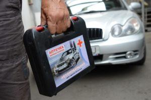 Автомобільна аптечка в Україні