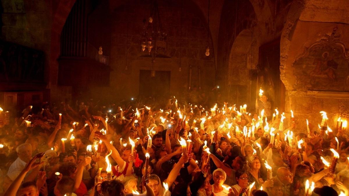 Благоданий вогонь в Єрусалимі