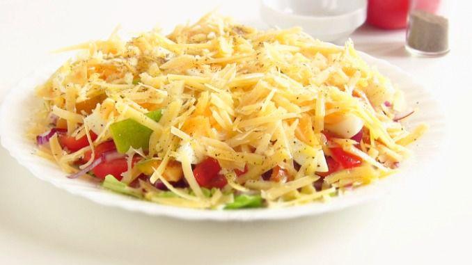 слойоний салат