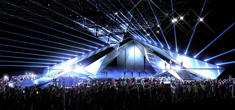 сцена Євробачення