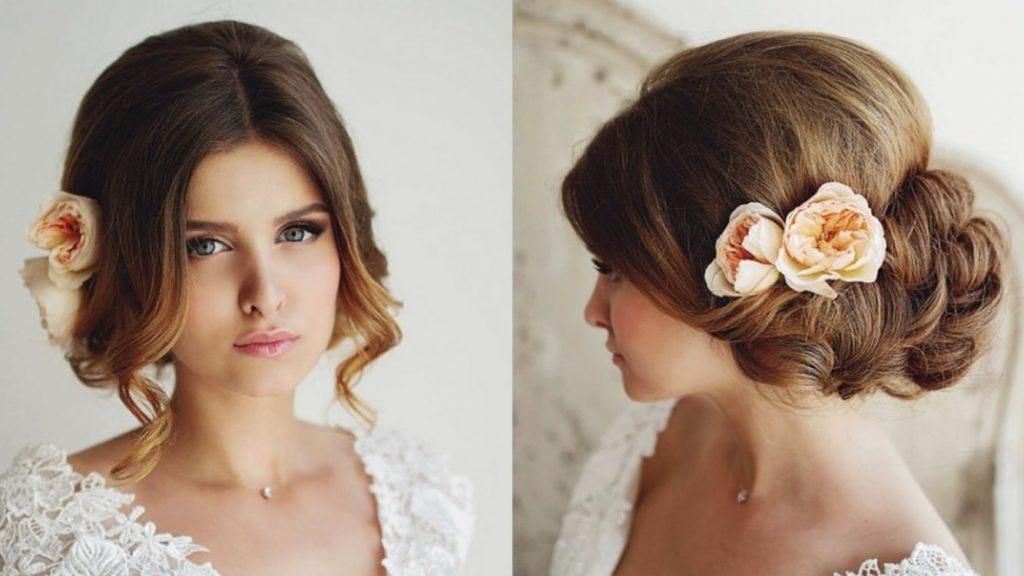 весільна зачіска