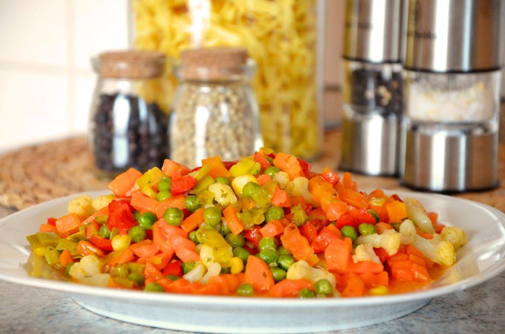 страви із заморожених овочів