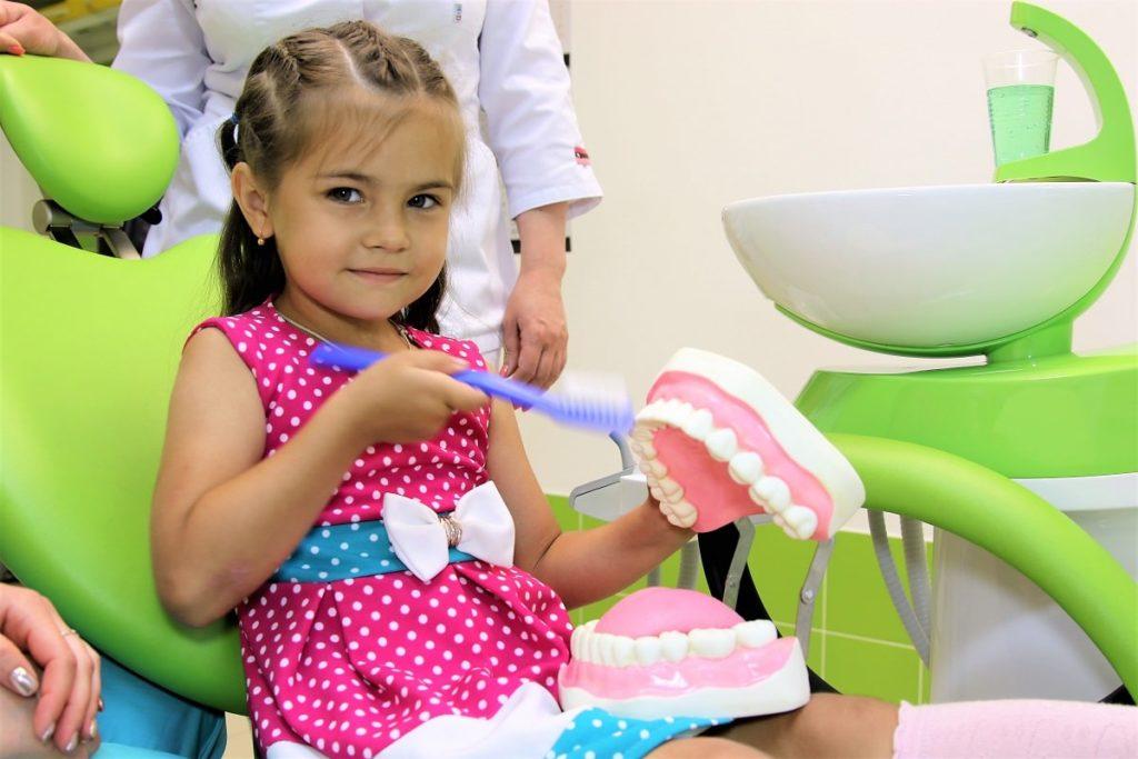 Перший візит до дитячої стоматології