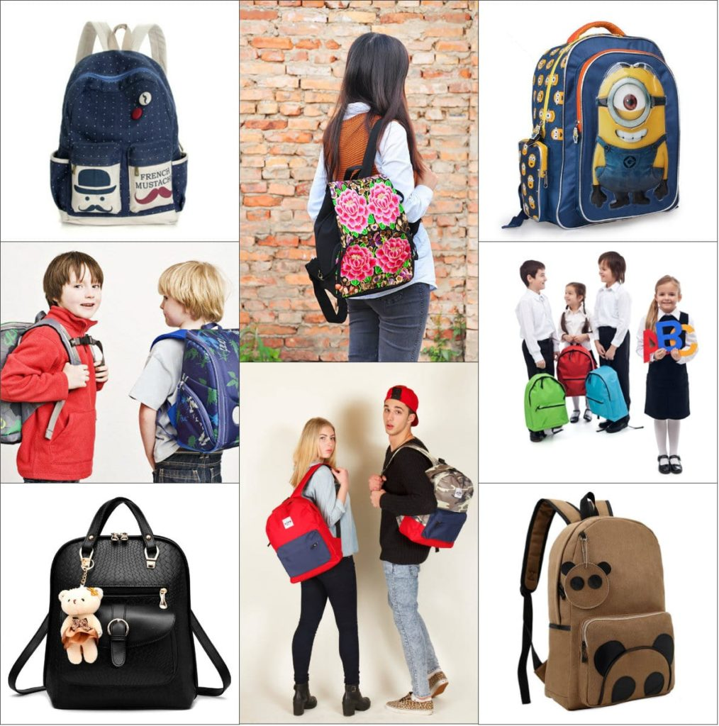 шкільні рюкзаки