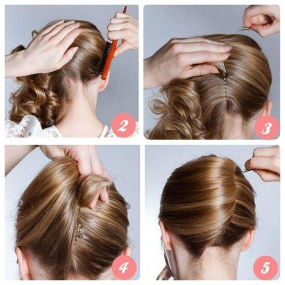 Зачіска на кожен день - черепашка