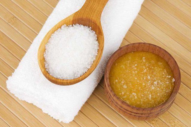 Мед і сіль для всього тіла