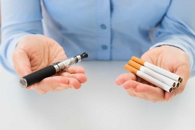 Вейпінг допомагає кинути палити