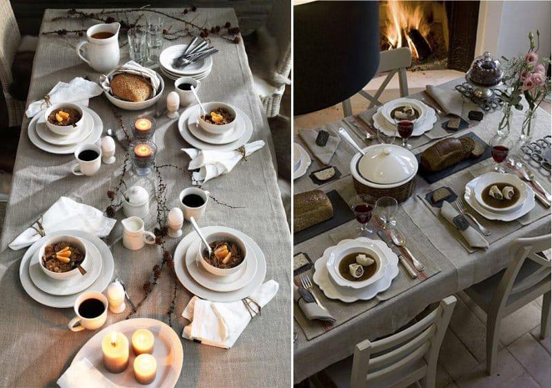 servirovka-stola-v-rustikalnom-stile