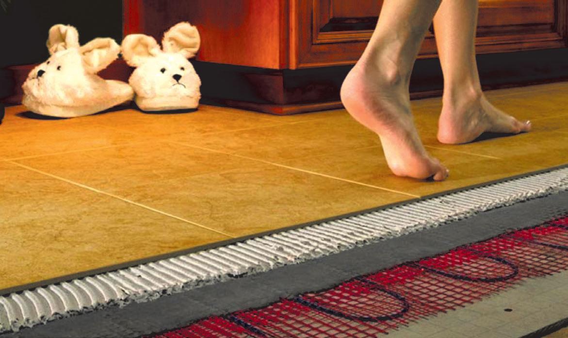 електричної теплої підлоги