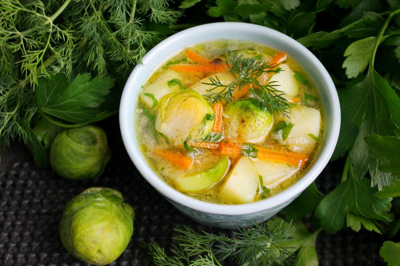 суп из брюссельской капусты рецепты с фото брюнетка получает