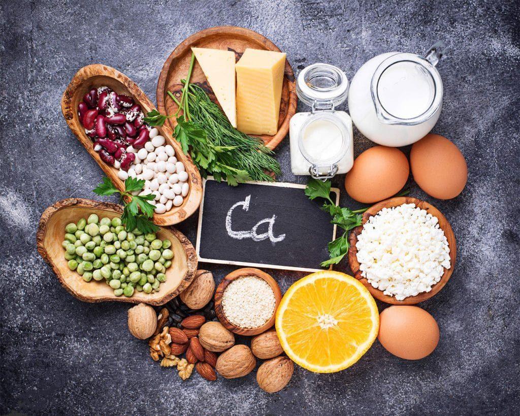 продукти в яких міститься кальцій